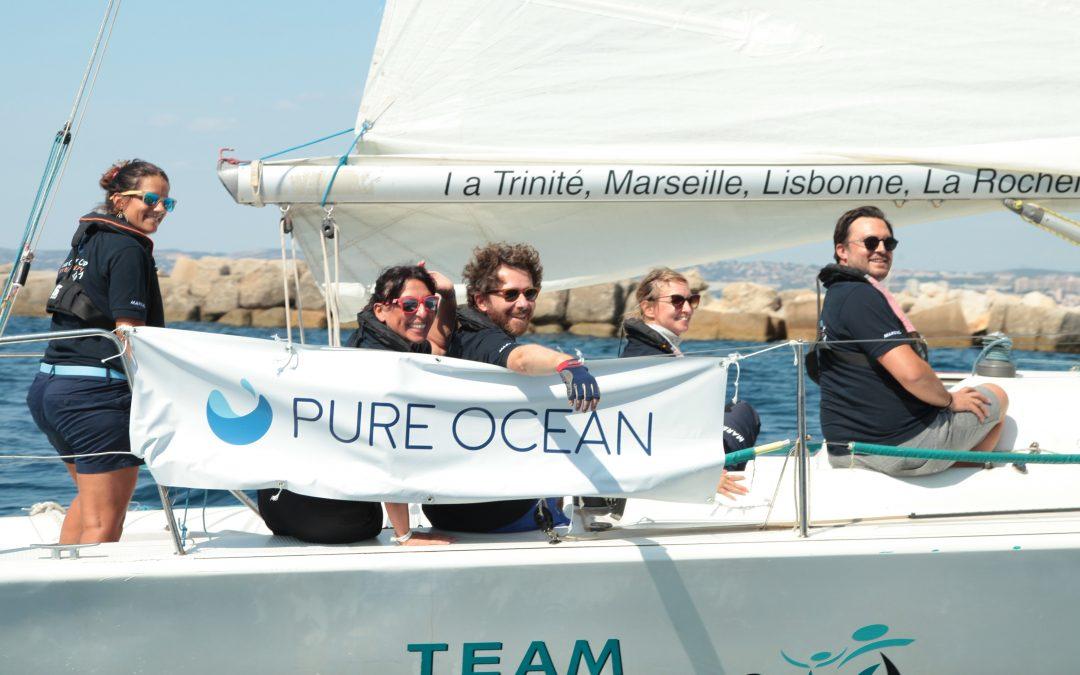 Le cabinet participe à la regate Pure Ocean